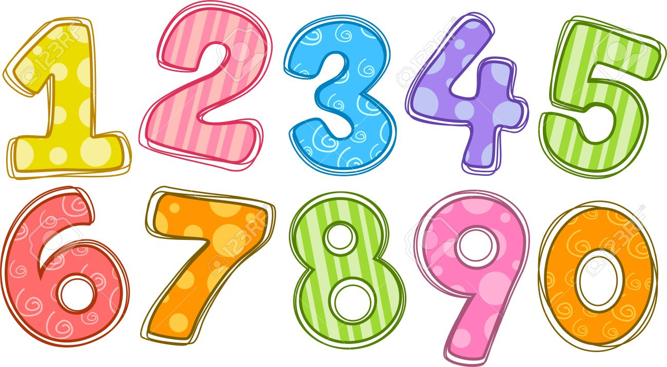 graphic download Free cliparts download clip. Numbers clipart