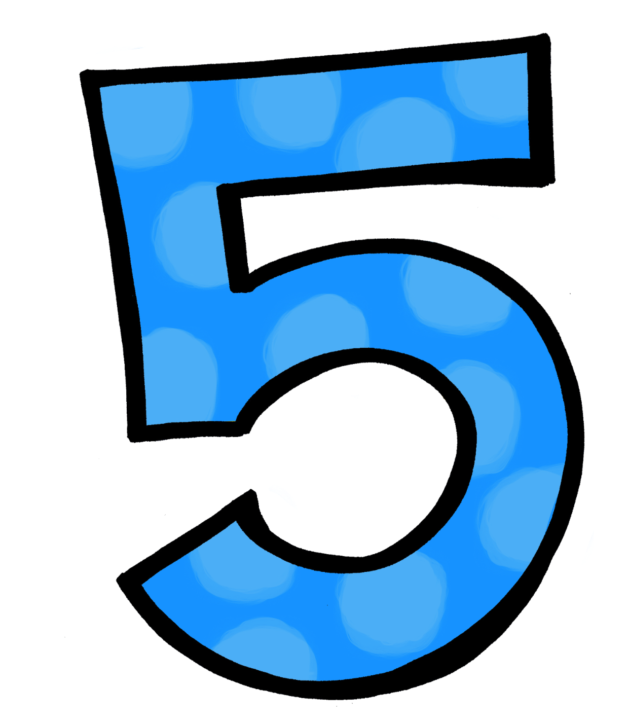 graphic library library 4 clipart 5 number. Numbers five free on