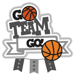 clipart library download Basketball clip cute. Go team svg scrapbook