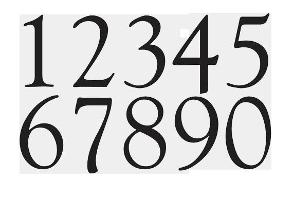 vector Numbers transparent. Png peoplepng com.