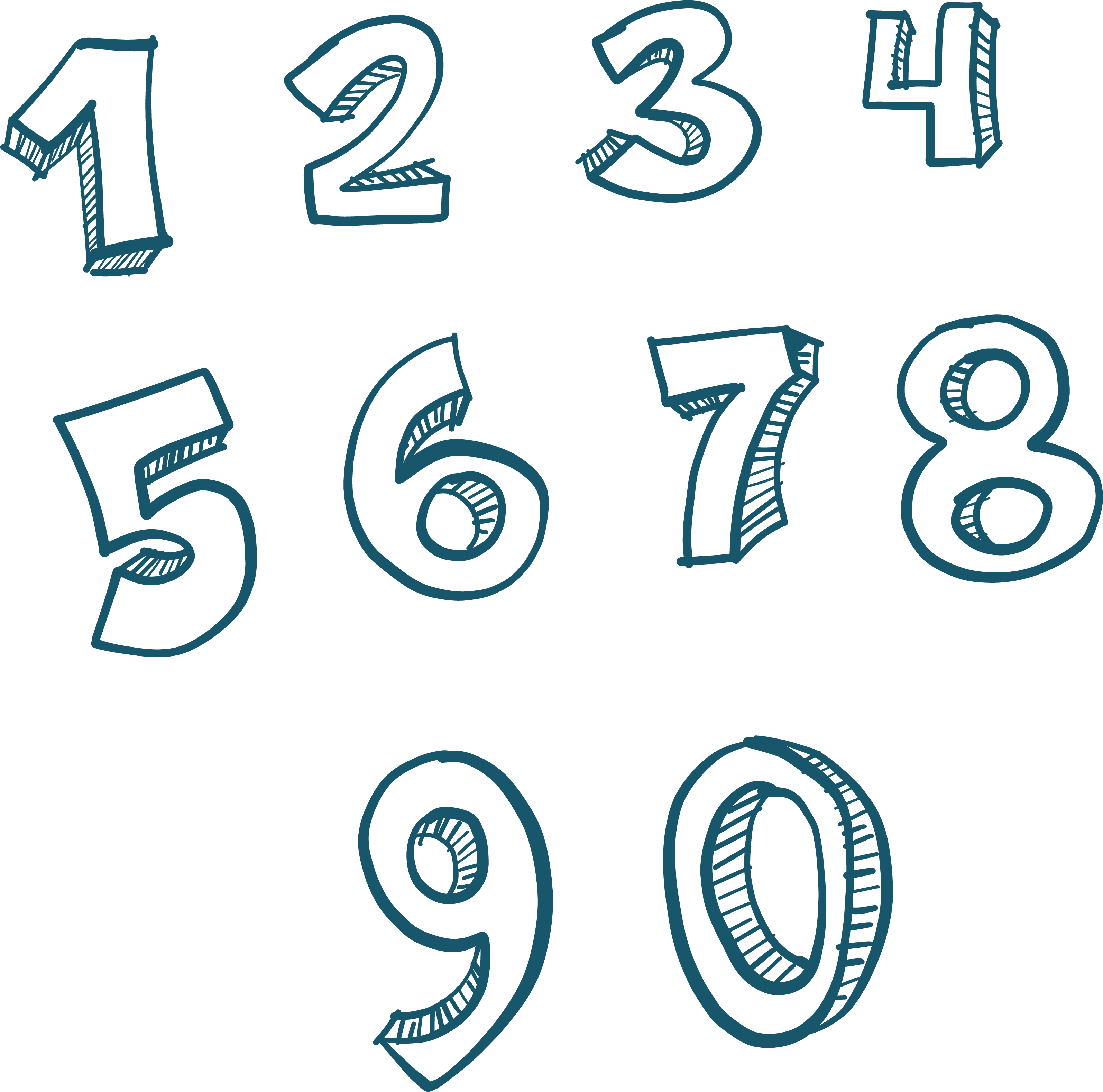 clip free library Numbers transparent. Background png arts .