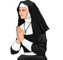 png stock Nun clipart. Free catholic cliparts download.