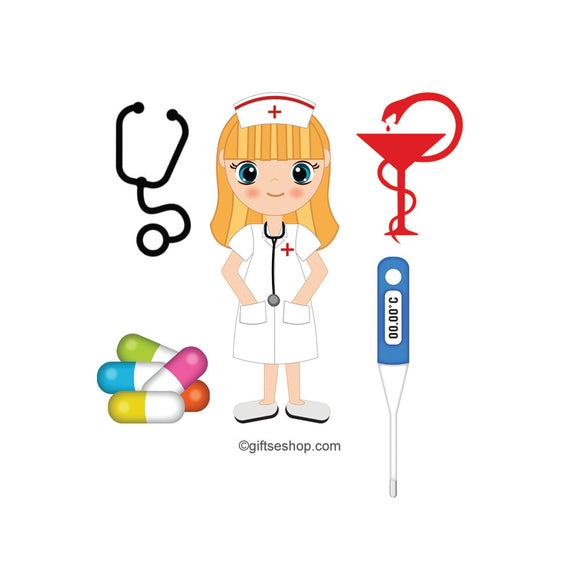black and white stock Images medical doctor stethoscope. Nurse clipart.