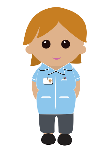 banner free Kingston hospital patients visitors. Uniform clipart nurse