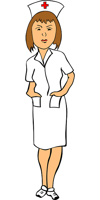 vector black and white stock Uniform clipart nurse. Free clip art chic