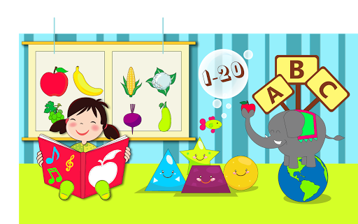 picture freeuse Nursery clipart educational game. Kindergarten kids learning fun