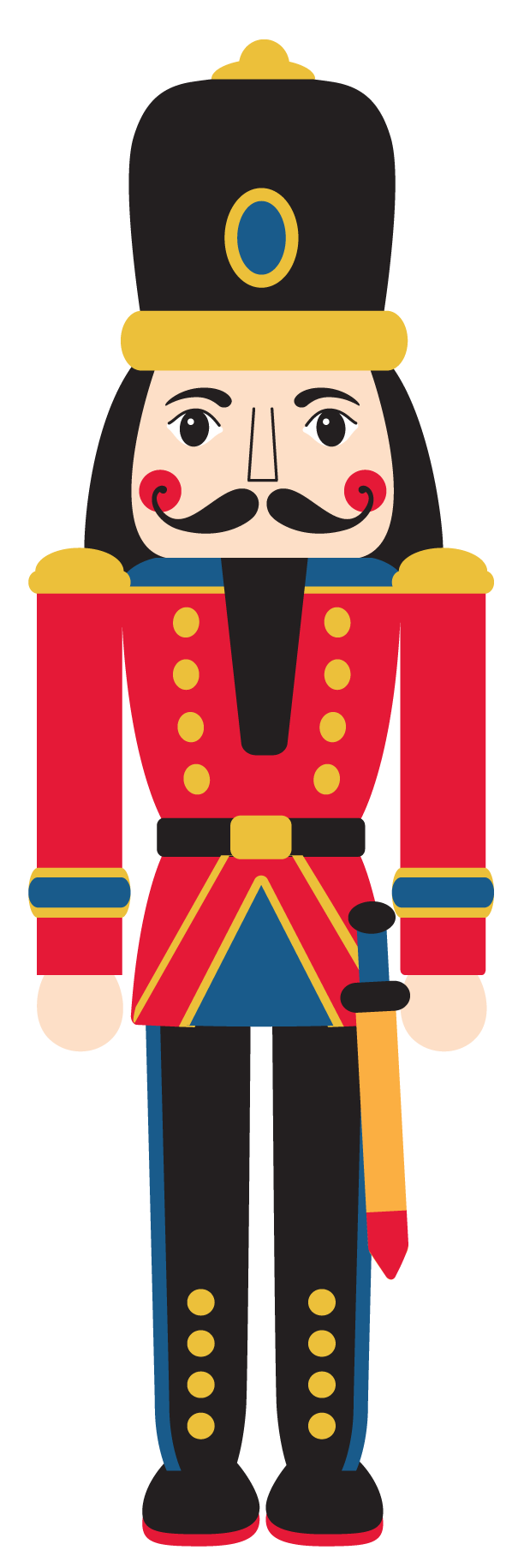 banner royalty free download Suite at getdrawings com. Nutcracker face clipart