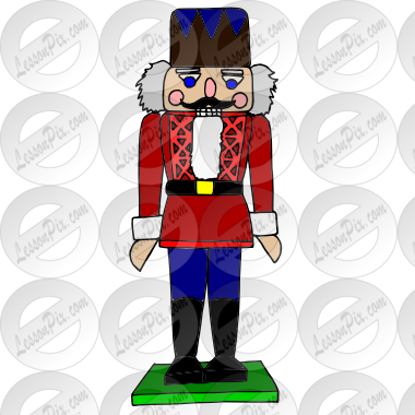 jpg stock Nutcracker clipart. Picture for classroom therapy