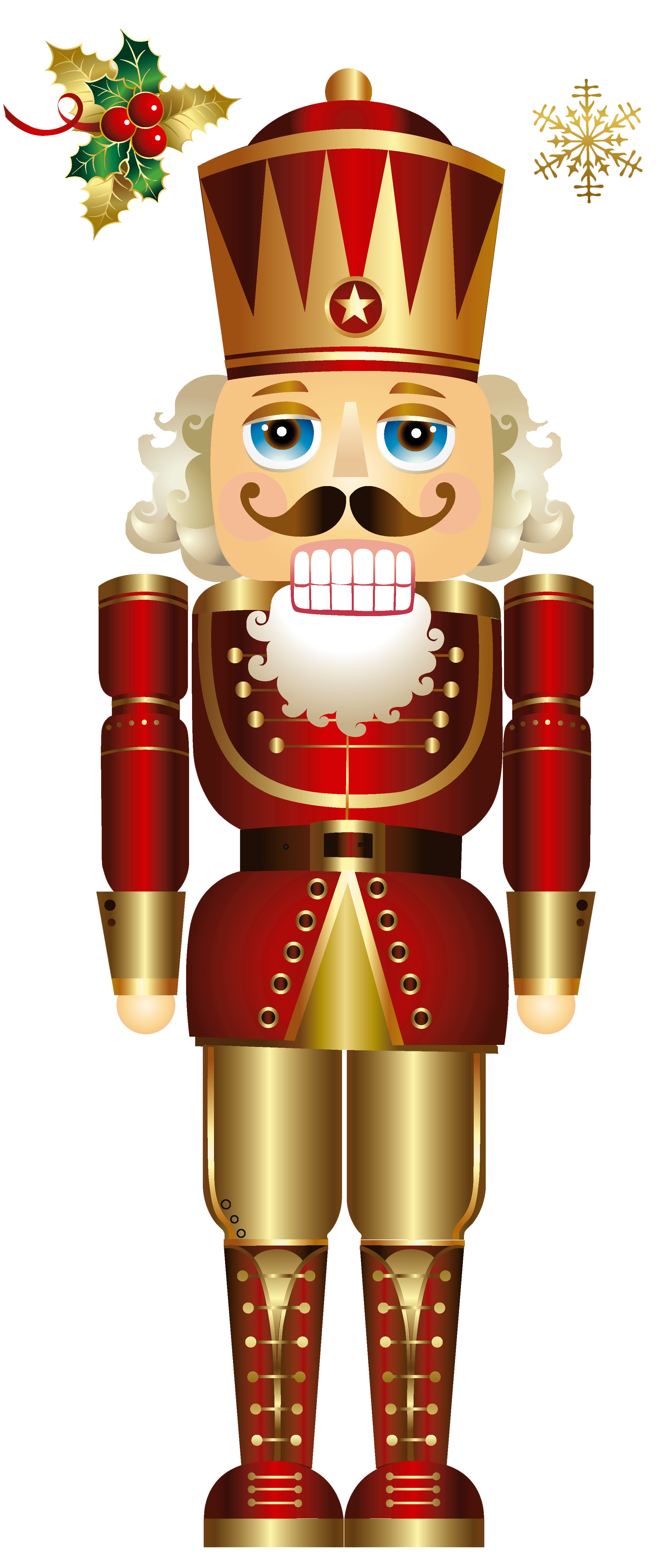 clipart library Free christmas adult coloring. Nutcracker clipart