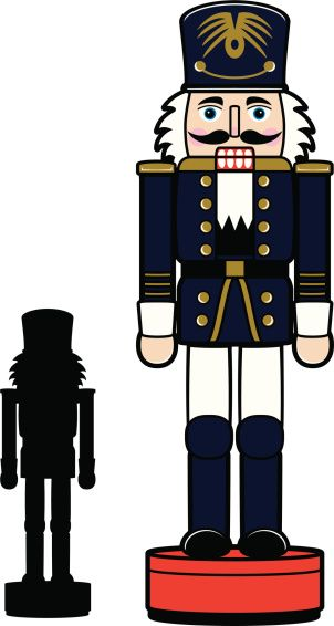 vector free library Nutcracker face clipart. Image result for black