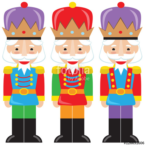picture royalty free download Nutcracker vector cartoon illustration