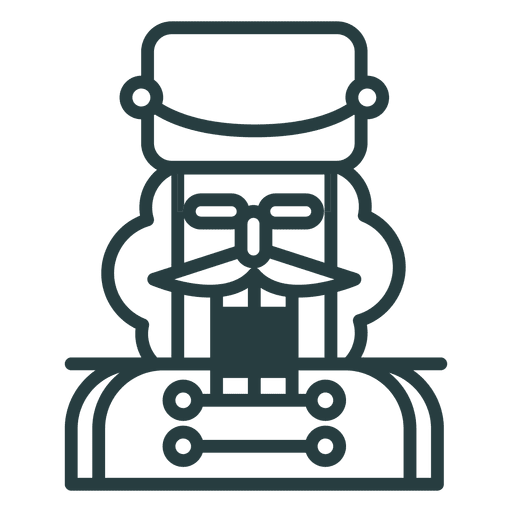 clipart library download Christmas nutcracker icon