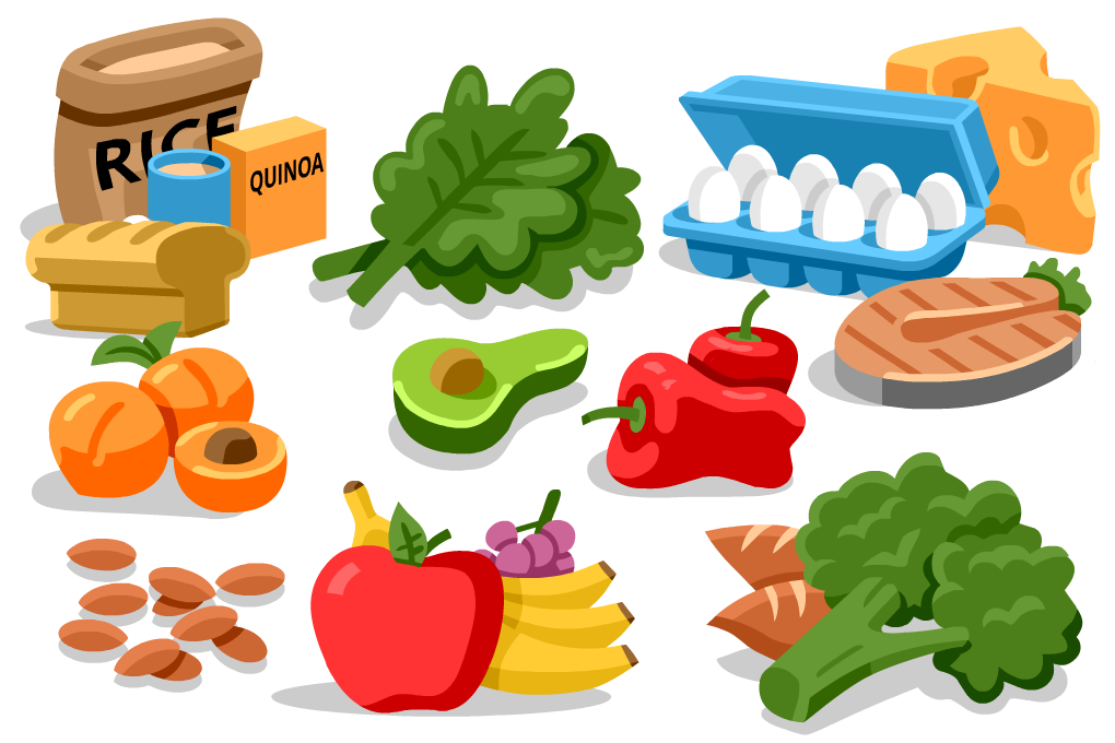 clip art transparent stock Meal clipart meal plan. Energy food free on.