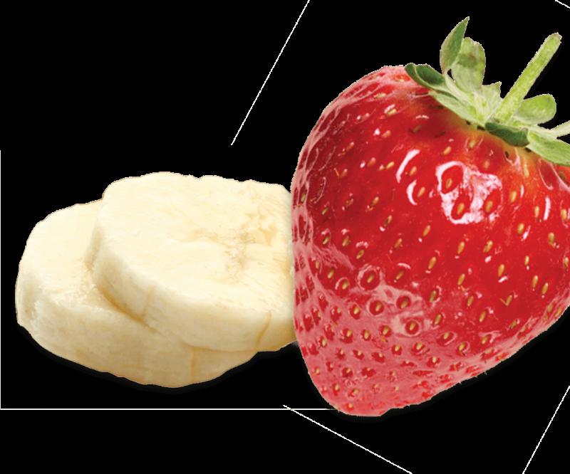 vector Strawberry Banana Energy Gels