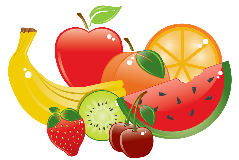 clip art freeuse stock The Fresh Fruit Diet