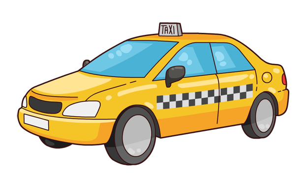 picture free library taxi drawing easy #116202711