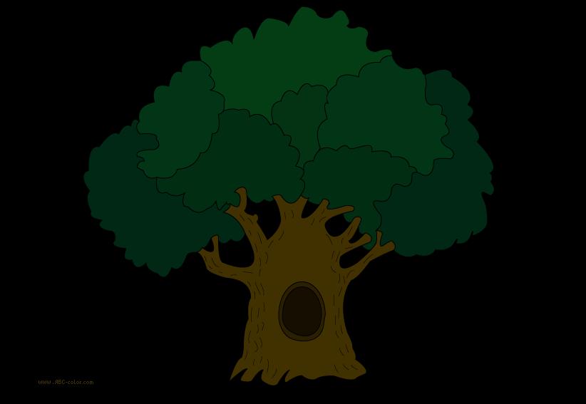 image royalty free library Oak clipart. Free tree clip art