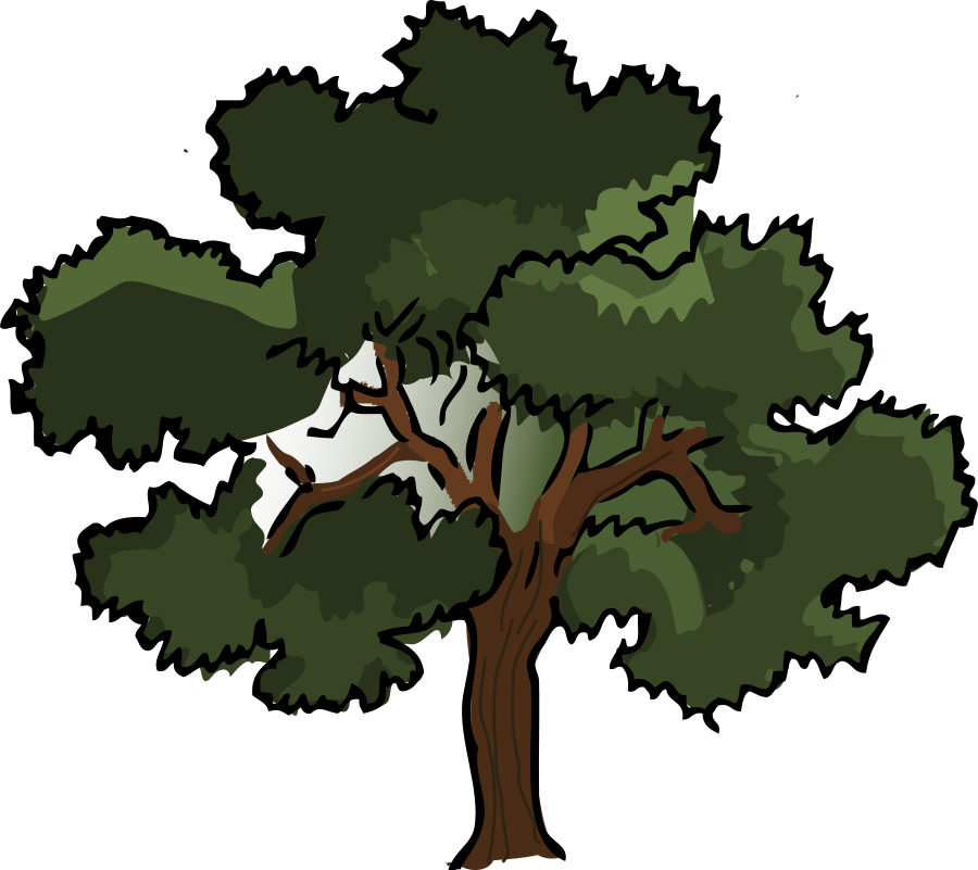 freeuse stock Oak clipart. Tree .