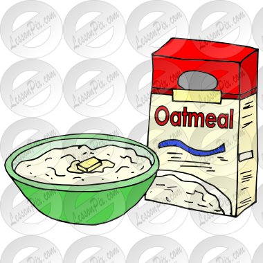 image Picture for classroom therapy. Oatmeal clipart