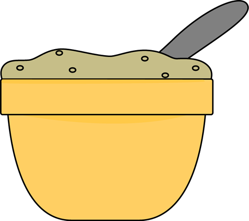 clip free library Bowl of . Oatmeal clipart