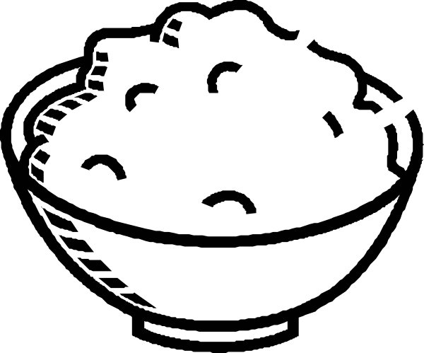 clipart free Porridge Clipart full bowl