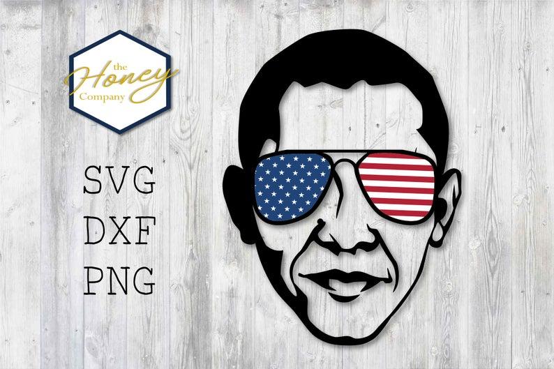 freeuse Obama vector patriotic. Cool svg png dxf
