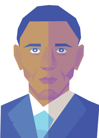 vector black and white download Talking graphics november did. Obama vector tutorial