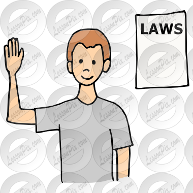 graphic royalty free Obey the Law Picture for Classroom