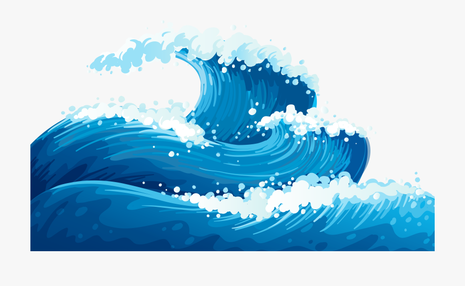 graphic free stock Ocean clipart. Waves free cliparts on