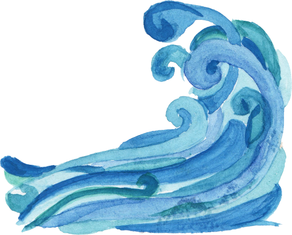 picture library stock  watercolor ocean png. Transparent wave