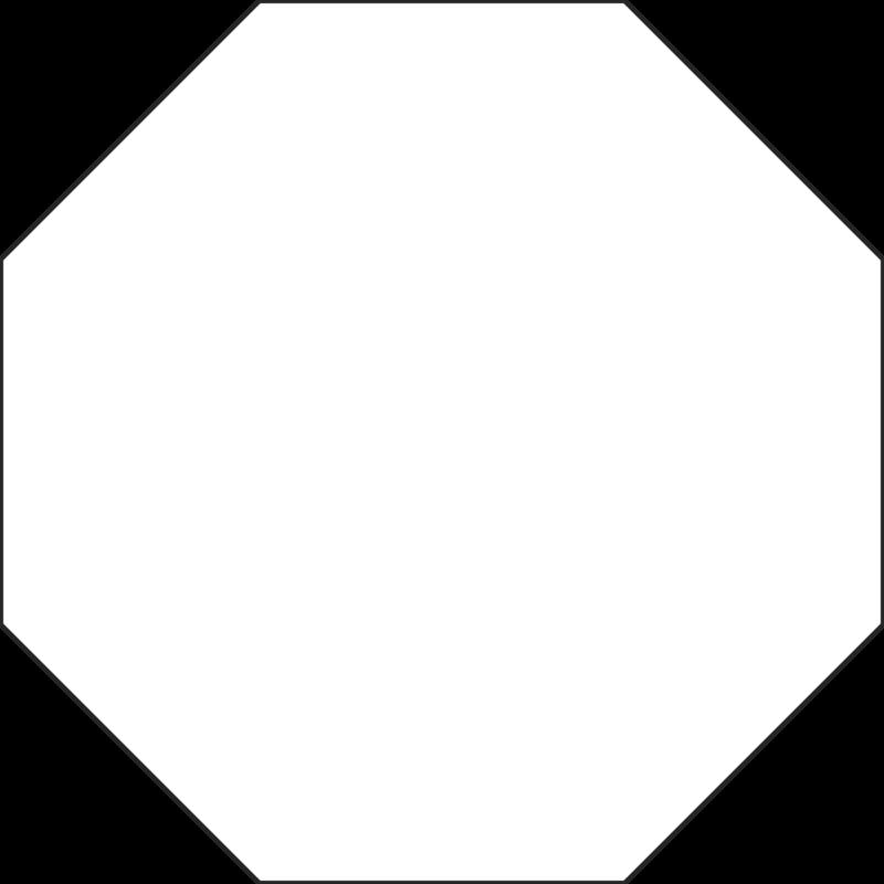 vector library octagon vector regular #114763757