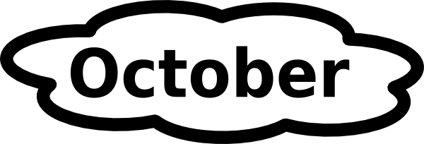 black and white library october clipart black and white #59263986