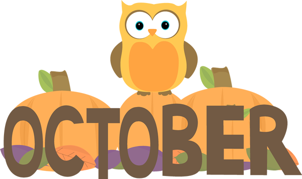 vector free Banner clipart october