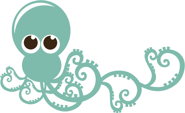 picture black and white download octopus clip cute #114768463