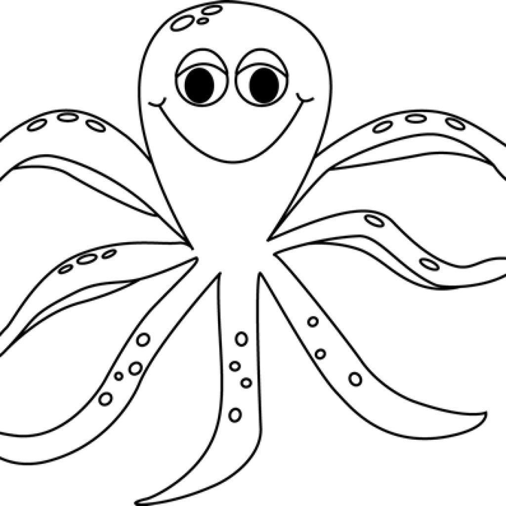 banner royalty free download Octopus Clipart Black And White butterfly clipart hatenylo