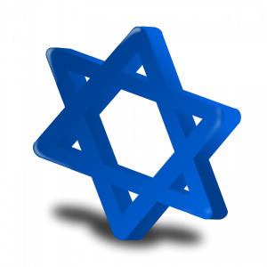 clip art black and white library Free jewish images star. Of david clipart