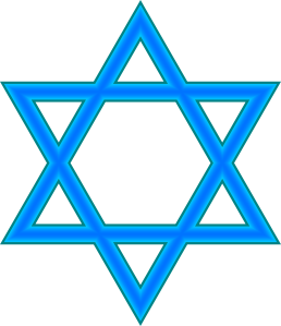 graphic royalty free Star Of David Clip Art at Clker