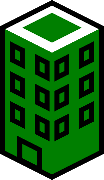 vector library stock Office Building Green Clip Art at Clker