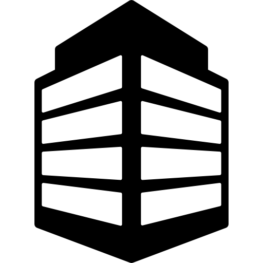 jpg library stock Office building clipart black and white. Icon page