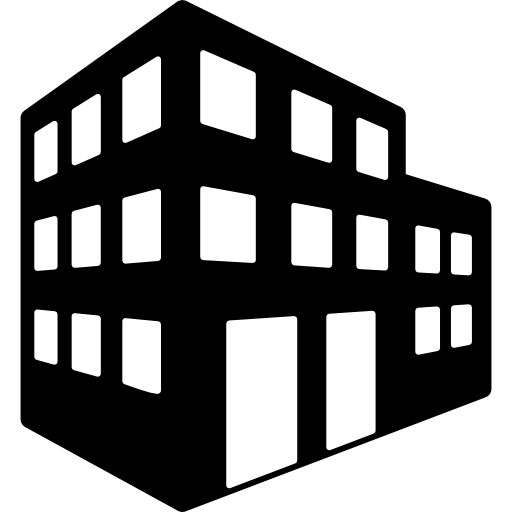 graphic transparent  collection of high. Office building clipart black and white