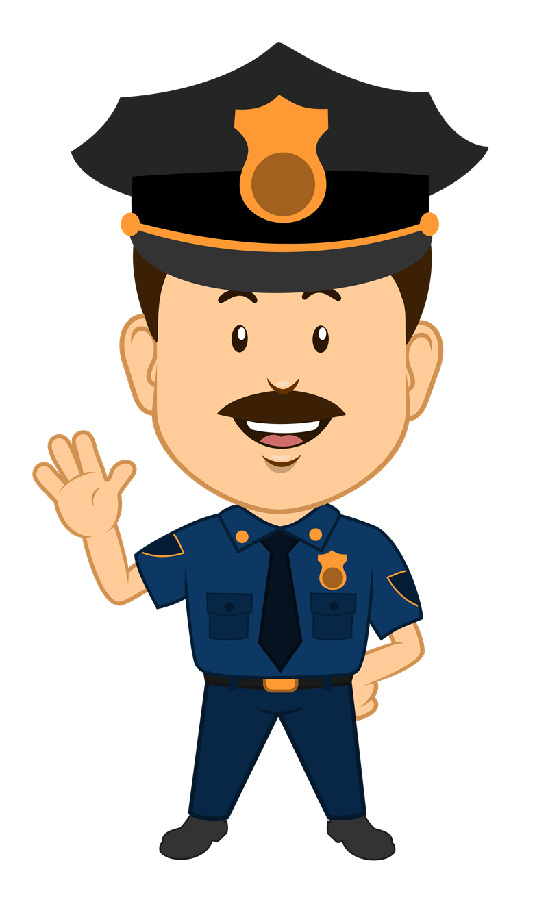 clip freeuse police officers clipart #66789745