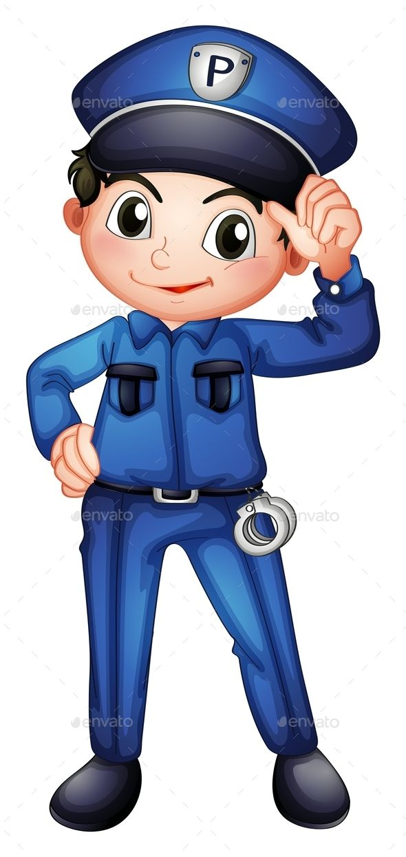 image transparent stock Officer clipart community worker. Policeman
