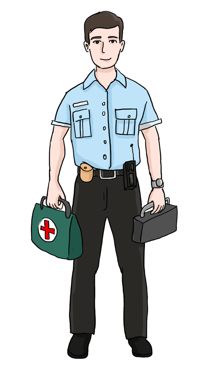 clipart royalty free library Paramedic