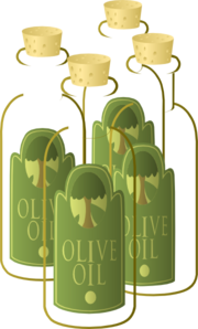 banner freeuse stock Olive Oil Clip Art at Clker