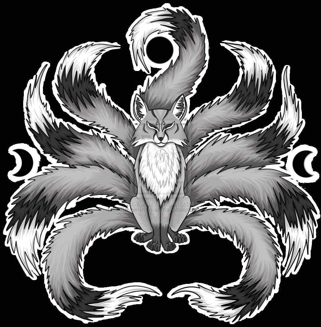 image freeuse download Kitsune Drawing
