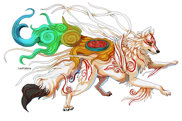 picture library stock okami drawing tattoo #100571666
