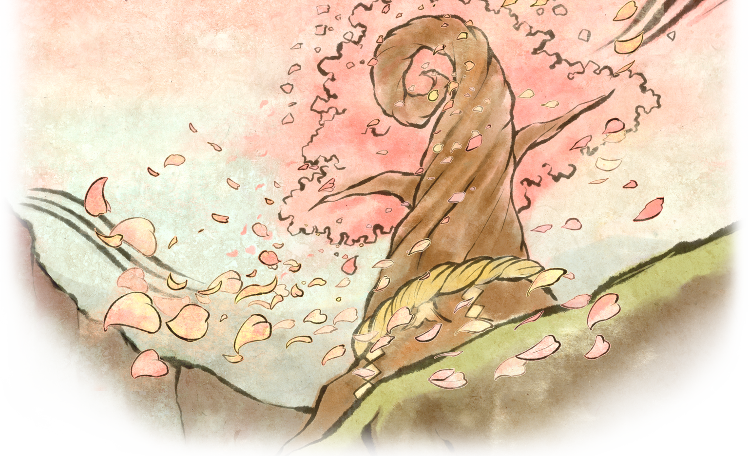 clipart freeuse library okami drawing watercolor #100569478