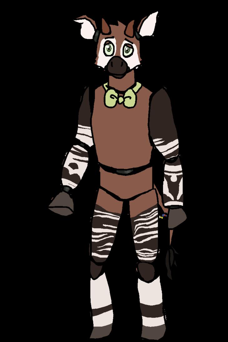 jpg black and white download Oki the Okapi by FlyingEevee on DeviantArt