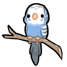 clipart free Lil budgie by griffsnuff