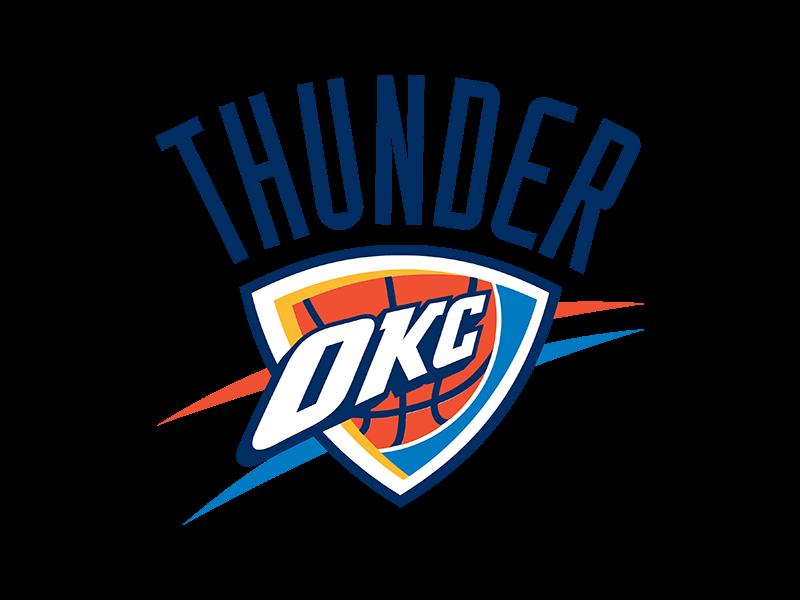 clip art royalty free library Okc thunder clipart. Oklahoma city logo png